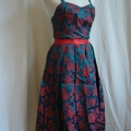 vintage-brocade-dress-with-panel