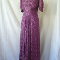 Deborah's 1920s dress was in great condition apart from the button closure