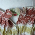 The waistband of this vintage skirt had ripped and needed reinforcement