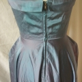 We re-attached the zip on this gown