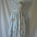 This vintage Horrockses dress had been poorly altered in the past