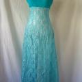 vintage-1970-turquoise-dress-before-shortening